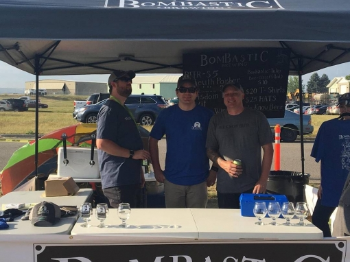 Had a great time at our first festival with @madbombertaproom @northidahocider @paragonbrewing and @selkirkabbey. Over 2k people showed up to @greatnorthwestbbq!