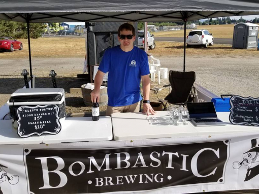 Come get some beer! Pouring at North Idaho Cider in Hayden.