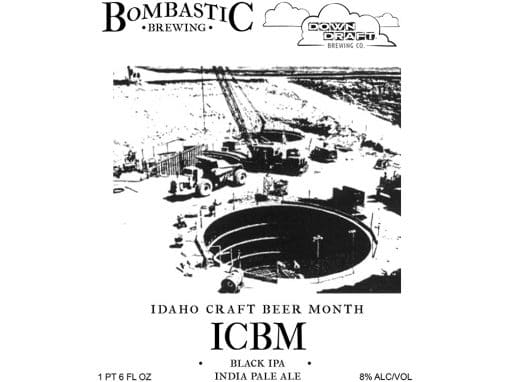 Bombastic / Downdraft Collaboration ICBM Black IPA