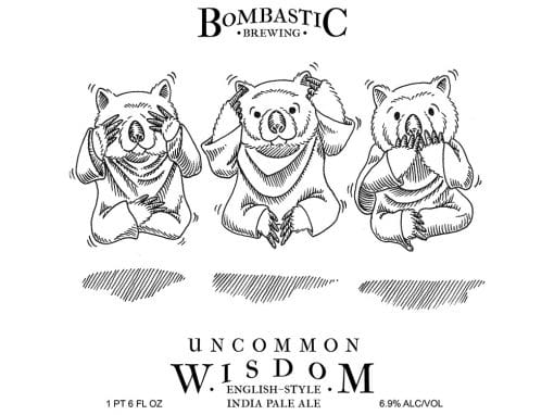 Uncommon Wisdom English Style IPA