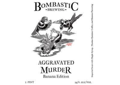 Aggravated Murder Imperial Stout Banana Edition