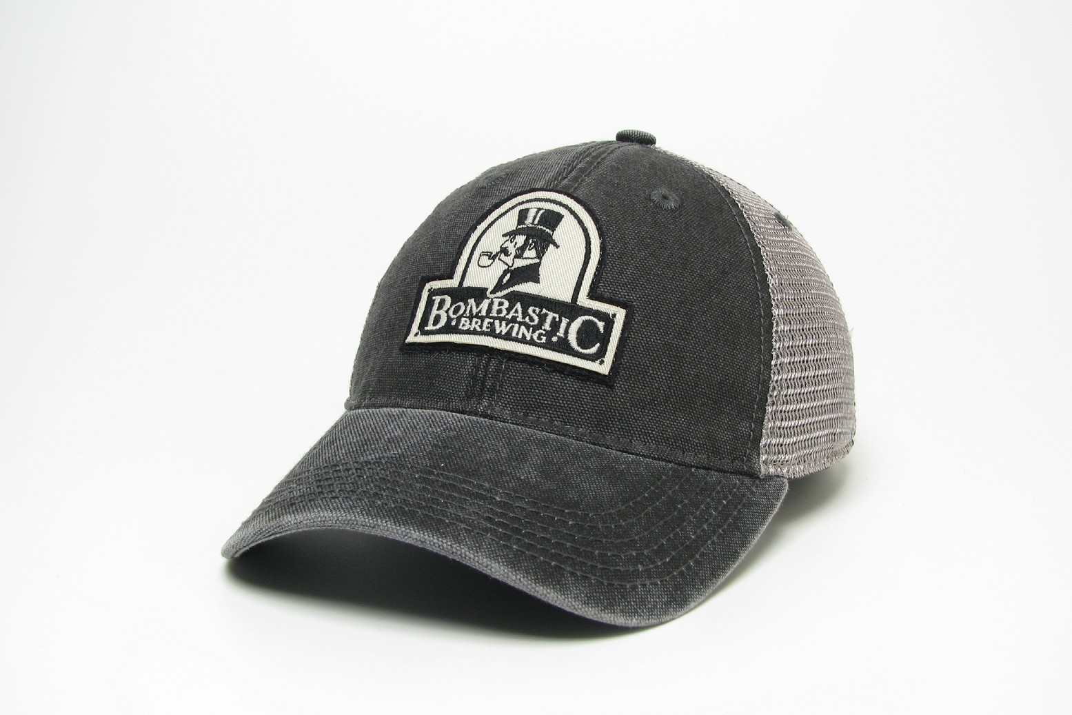 be6a176f76a2d Bombastic Trucker Hat - Bombastic Brewing